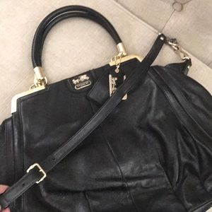 Black Coach XL Handbag